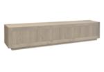 helder tv meubel opzet eiken hout vermeer maatwerk