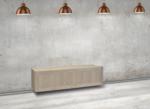 vermeer helder ophang zwevend tv meubel