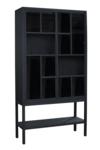glaskast virtinekast stoer zwart metaal maatwerk vermeer