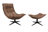 eco leather spider fauteuil coming
