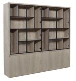 puur glaskast met metalen deuren vermeer meubelen maatwerk