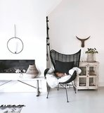 Egg Chair Hk Living.Hk Living Rotan Egg Chair Black