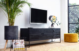 WOOOD Exclusive Silas tv meubel black night