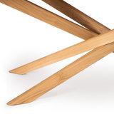 Ethnicraft Mikado round coffee table oak