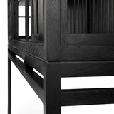 Ethnicraft Oak Burung sideboard high–2 sliding doors