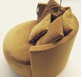 Passepartout Pastille lounge in stof LSB 1536 Velvet Gold