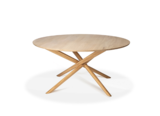 Ethnincraft Mikado round dining table