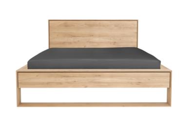 Ethnicraft Nordic II bed oak 180-200