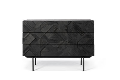 Ethnicraft Graphic chest of 3 drawers