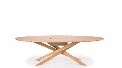 Ethnicraft Mikado meeting dining table oak