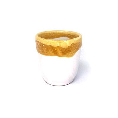 Taste of Puglia drinkbeker geel