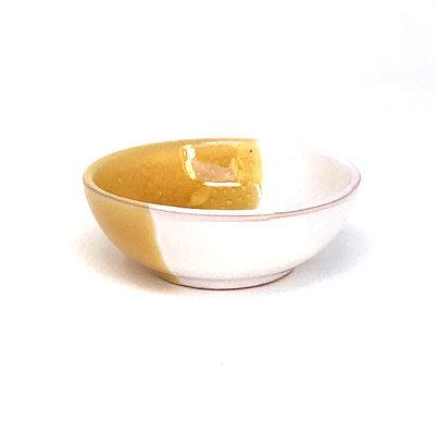 Taste of Puglia schaaltje geel 9cm
