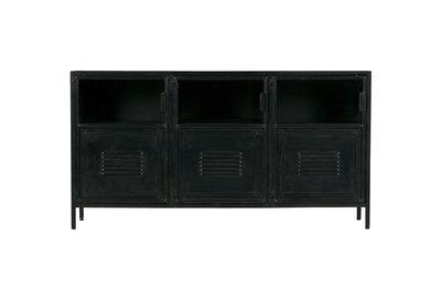 WOOOD Ronja dressoir metaal zwart