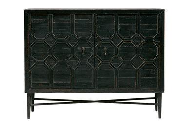 BePureHome Bequest dressoir hout zwart