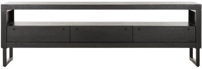 Night TV stand 180cm black