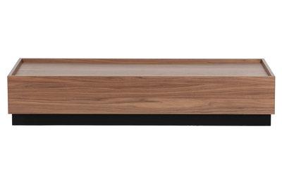 VTWonen Block salontafel grenen walnoot 135x60 [fsc]