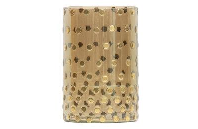 BePureHome: Shimmer glazen licht antique brass ø13cm