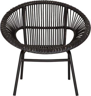 Must Living fauteuil jamaica zwart