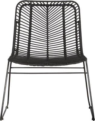 Must Living fauteuil Vive la Vie zwart