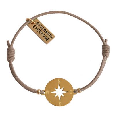 4everwitheveryone armbandje: kompas