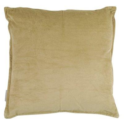 Goround interior kussen cotton velvet beige