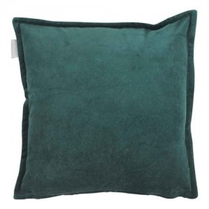 Goround interior kussen cotton velvet bottle green