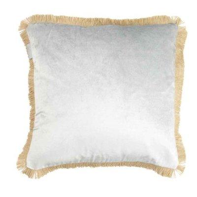 Goround interior kussen viscose velvet silver