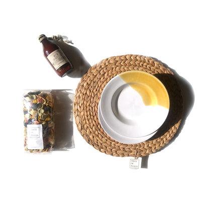 Taste of Puglia cadeaupakket Italiaanse tafel (geel)
