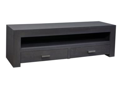 Maatwerk TV meubel Zuiver 2 lades 1 open vak