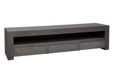 Maatwerk TV meubel Zuiver 3 lades en een open vak
