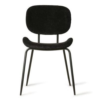 HKliving dining chair rib black
