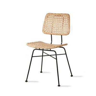 HKliving rattan desk chair natural