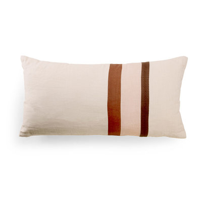 HKliving linen striped cushion