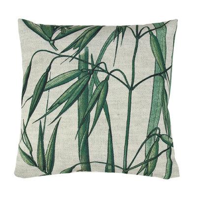 HKliving printed cushion bamboo