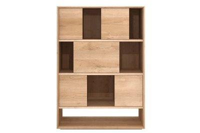 Ethnicraft Oak Nordic rack 6 sliding doors