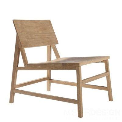 Ethnicraft : N2 Lounge Chair Oak