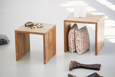 Ethnicraft : kubus open side table