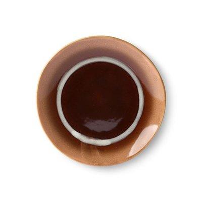 HKliving ceramic 70's dessert plate: stream