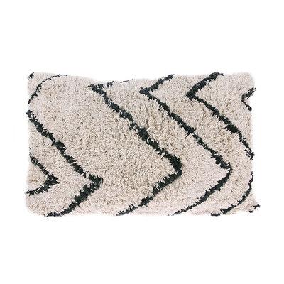 HKliving cotton zigzag cushion (40x60)