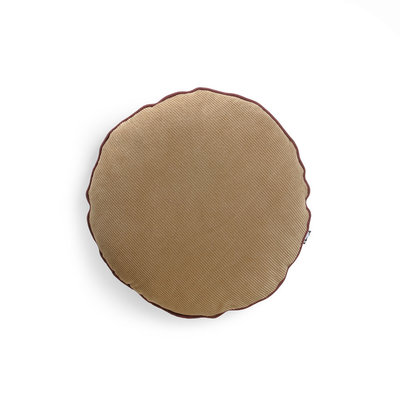 HKliving corduroy cushion round (ø40)