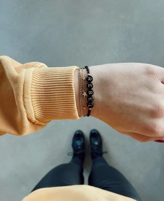 Jewelz By Joya elastisch armbandje rebel