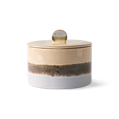HKliving 70s ceramics: cookie jar, lake