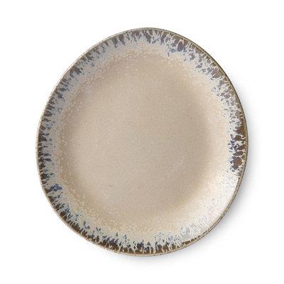 HKliving 70s ceramics: side plates, bark (set of 2)
