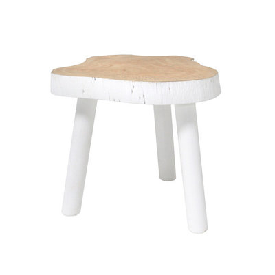HK Living tree table white