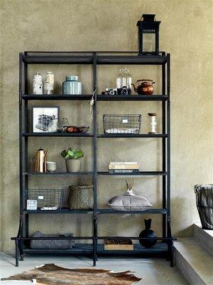 Bodilson vintage black shelves