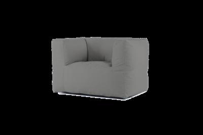 Bryck Chair 1 zits ECOLLECTION Medium grey 19