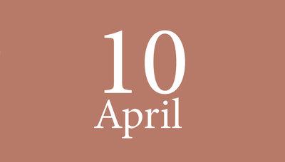 Shopmoment zaterdag 10 april