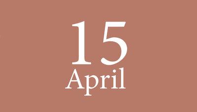 Shopmoment donderdag 15 april
