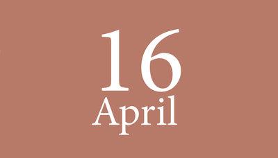 Shopmoment vrijdag 16 april