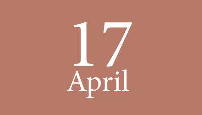 Shopmoment zaterdag 17 april